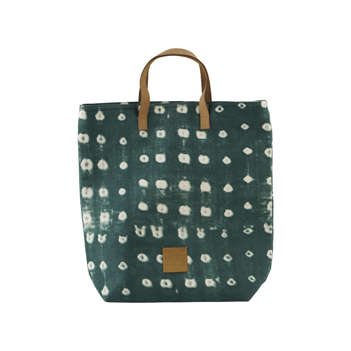 f3a123f3ebded Torba Green Dots - Sklep WhiteHouseDesign.pl