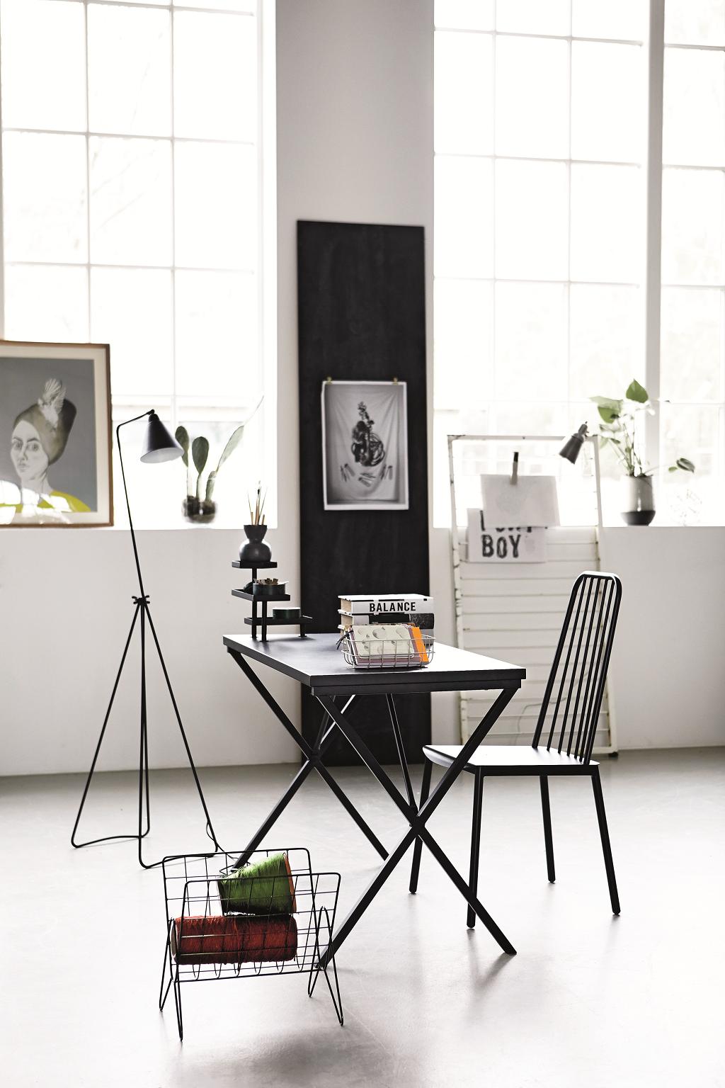 gazetnik vintage house doctor czarny sklep. Black Bedroom Furniture Sets. Home Design Ideas